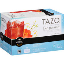 Tazo Sweetened Iced Passion K-Cup Herbal Tea