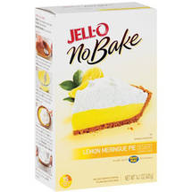 Jell-O No Bake Lemon Meringue Pie Dessert Mix