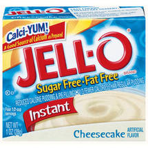Jell-O Sugar Free & Fat Free Cheesecake Instant Pudding & Pie Filling