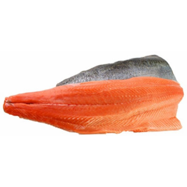 Custom Caught King Salmon Fillet