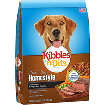 Kibbles 'N Bits Homestyle Grilled Beef Steak & Vegetable Flavor Dog Food