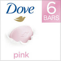 Dove Core Pink Beauty Bar