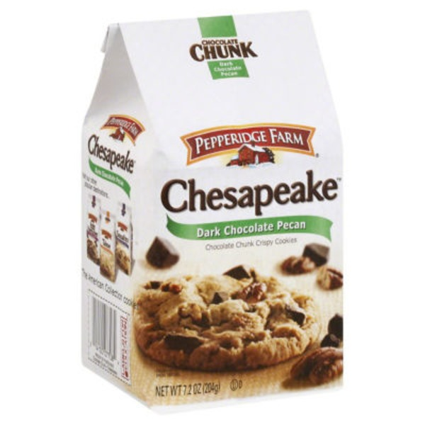 Pepperidge Farm Cookies Chocolate Chunk Chesapeake Dark Chocolate Pecan Crispy Cookies
