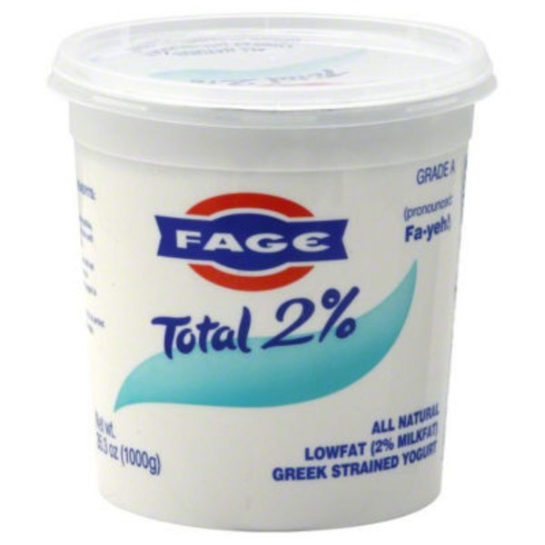 Fage Total Greek Strained Yogurt