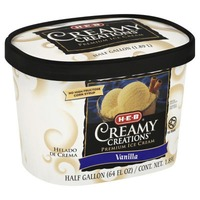 H-E-B Vanilla Creamy Creations Ice Cream