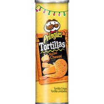 Pringles Tortilla Nacho Cheese Canister
