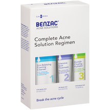 Benzac Acne Solutions Complete Acne Solution Regimen