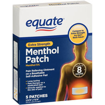 Equate Extra Strength Menthol Patch