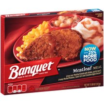 Banquet Meatloaf Meal