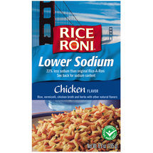 Rice-A-Roni Chicken Lower Sodium Rice Mix