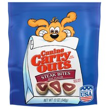 Canine Carry Outs Steak Bites Beef Flavor Dog Snacks