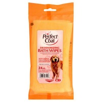 Perfect Coat Fresh Scent Deodorizing Bath Wipes