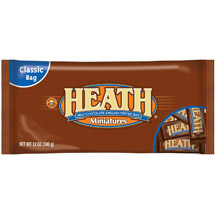 Heath English Toffee Bar Miniatures Milk Chocolate