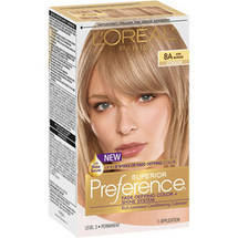 L'Oreal Paris Preference Ash Blonde 8A Haircolor