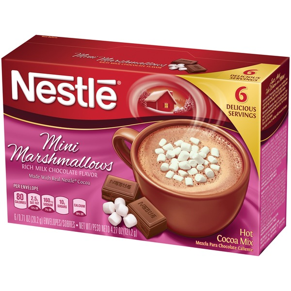 Nestle Hot Cocoa Mini Marshmallows Hot Cocoa Mix
