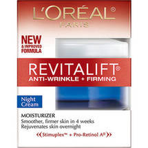 L'Oreal Advanced RevitaLift Night Cream Anti-Wrinkle & Firming With Skin Moisturizer