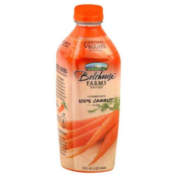 Bolthouse Farms 100% Carrot 100% Vegetable Juice
