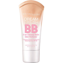 Maybelline Dream Fresh BB Cream Sheer Tint 8-In-1 Skin Perfector Light/Medium Light/Medium