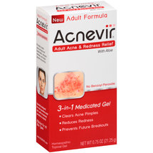 Acnevir Adult Acne & Redness Relief 3-in-1 Medicated Gel