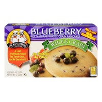 De Wafelbakkers All Natural Whole Grain Blueberry Pancakes