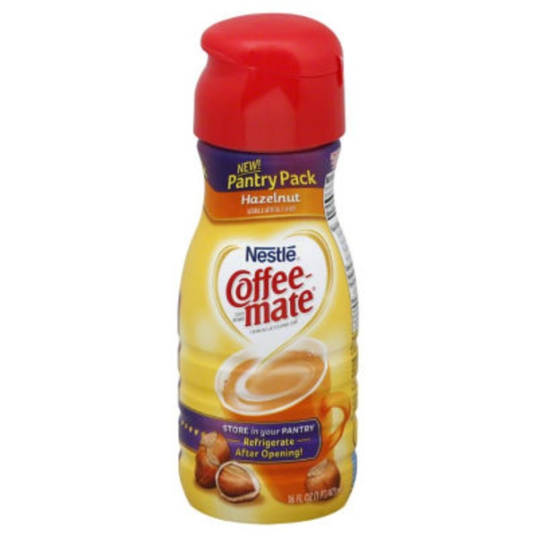 Nestle Coffee Mate Hazelnut Non-Dairy Liquid Coffee Creamer