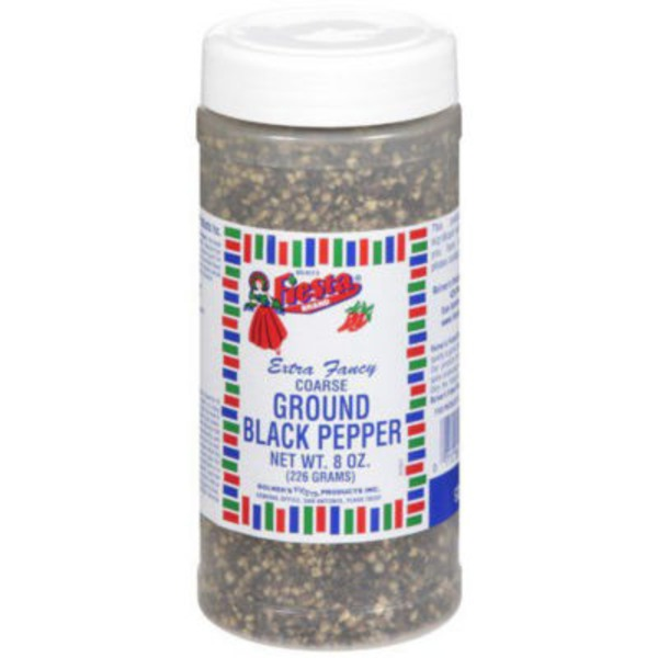 Fiesta Extra Fancy Coarse Ground Black Pepper