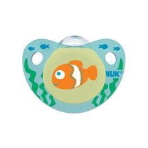 NUK Cute as a Button Silicone Orthodontic Pacifiers