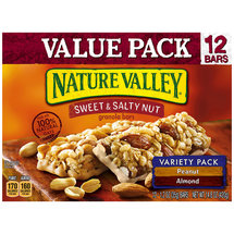Nature Valley Sweet & Salty Nut Peanut & Almond Variety Pack Granola Bars