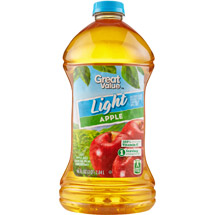 Great Value Light Apple Juice Cocktail 96 Fl Oz