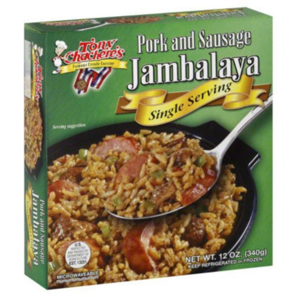 Tony Chachere's Jambalaya, Pork and Sausage