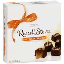 Russell Stover: Dairy Cream Caramels Fine Chocolates