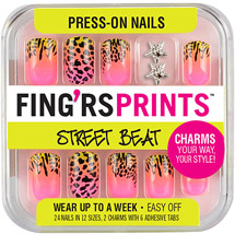 Fing'rs Prints Street Beat Press-On Nails Knotty Girl