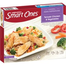 Weight Watchers Smart Ones Smart Creations Teriyaki Chicken & Vegetables
