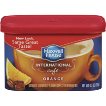 Maxwell House International Cafe Cafe-Style Orange Cafe Beverage Mix