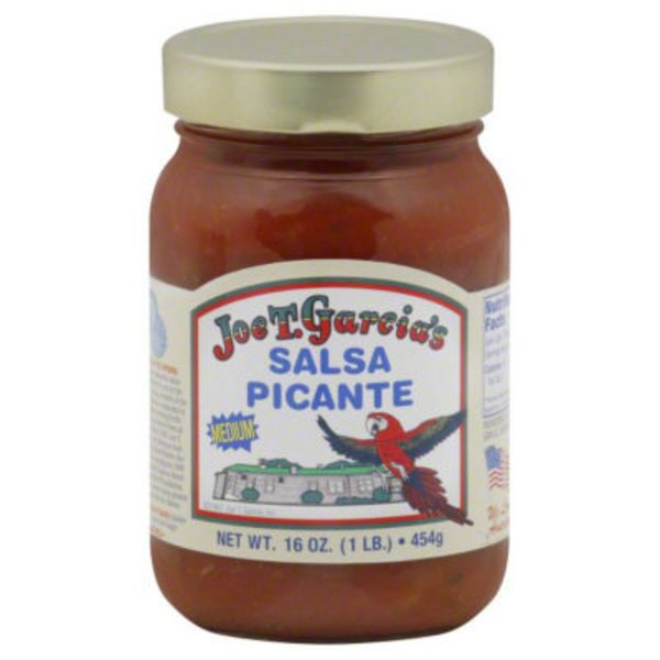 Joe T Garcia Medium Salsa Picante