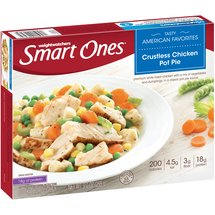 Weight Watchers Smart Ones Smart Creations Crustless Chicken Pot Pie