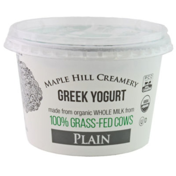Maple Hill Creamery Plain Greek Yogurt