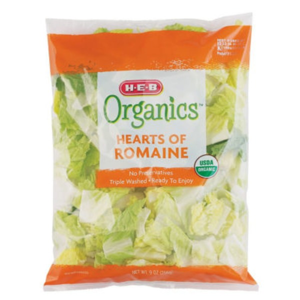 H-E-B Organic Hearts Of Romaine