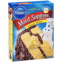 Pillsbury Moist Supreme Premium Classic Yellow Cake Mix