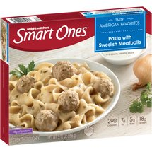 Weight Watchers Smart Ones Pasta with Swedish Meatballs