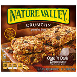 Nature Valley Crunchy Oats 'n Dark Chocolate Granola Bars