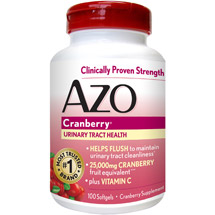 Azo Maximum Strength Cranberry Softgels
