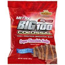 MET-Rx Big 100 Colossal High Protein Super Chocolate Fudge Brownie Bar