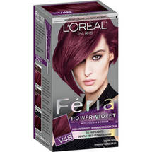 L'Oreal Paris Feria Power Violet High-Intensity Shimmering Color Kit V48 Intense Medium Violet