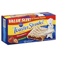 Pillsbury Toaster Strudel Strawberry Toaster Pastries