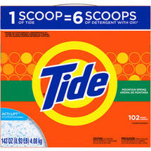 Ultra Tide Mountain Spring Laundry Detergent
