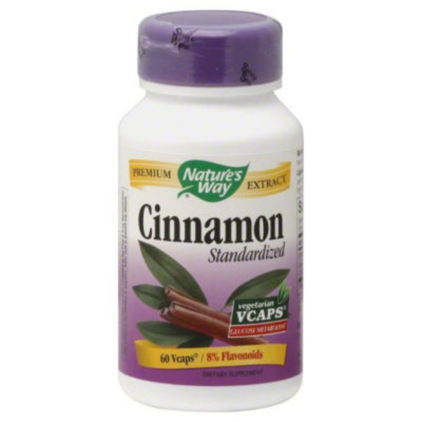 Nature's Way Cinnamon, VCaps, Bottle