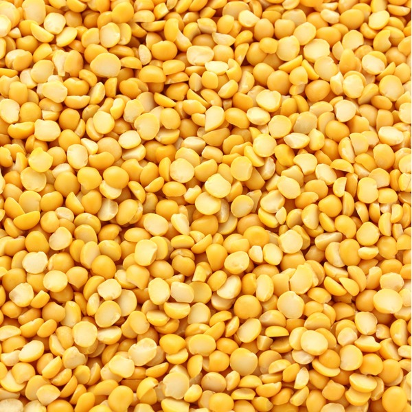 Organic Yellow Split Peas, Bulk