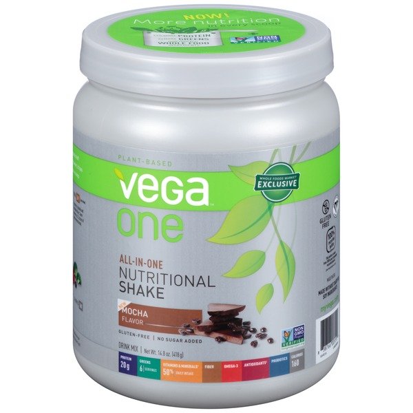 Vega One Mocha Nutritional Shake Drink Mix