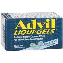 Advil Liqui-Gels 200mg Ibuprofen